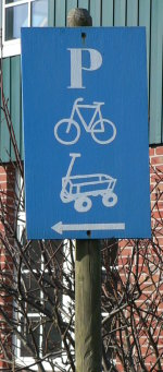 Alternative Verkehrsmittel geniessen hier Rechte!